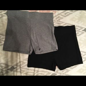 Forever 21 spandex shorts